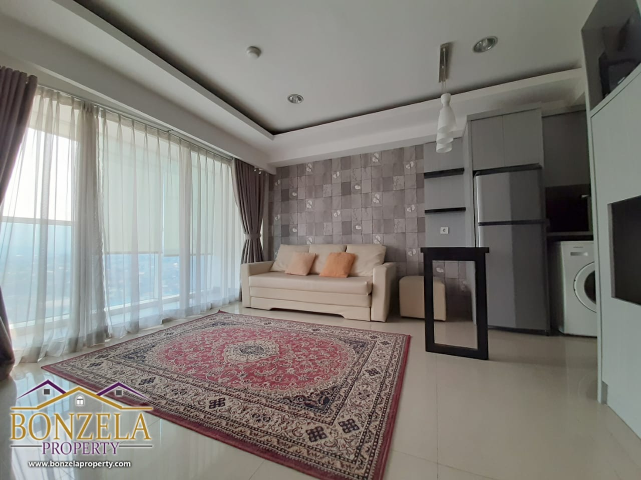 For Rent Apartement The Hive Tamansari 2 Bedroom Furnished